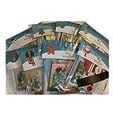 Nuevo para 2020 – Gama de 8 diferentes kits de fabricación de tarjetas de Navidad para niños – Fabricación de 32 tarjetas especiales