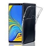 NEW'C Funda para Samsung Galaxy A9 2018, Anti-Choques y Anti-Arañazos, Silicona TPU, HD Clara