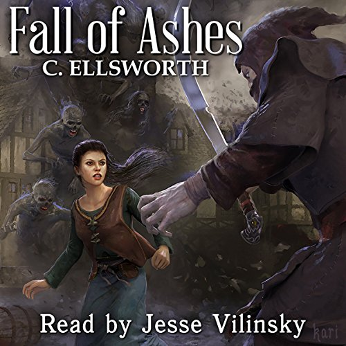 Fall of Ashes audiobook cover art