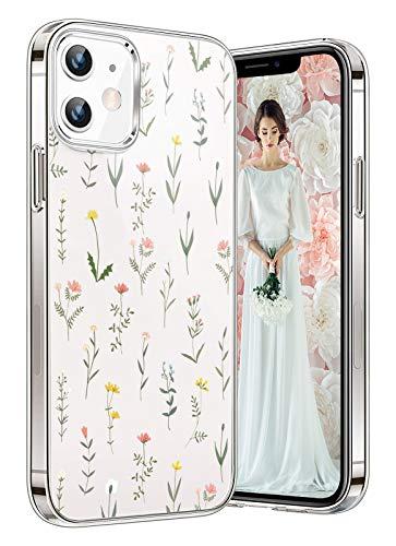 kkkie Funda compatible con iPhone 12 Pro, carcasa de TPU de silicona transparente suave, funda para teléfono móvil Crystal flexible antiarañazos, funda trasera para teléfono móvil (12 Pro, 5)