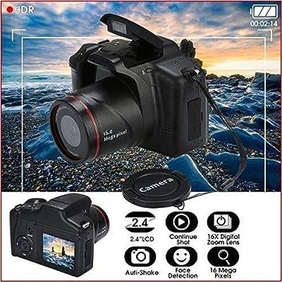 Dozenla HD SLR Camera Telephoto Digital Camera 16X Zoom AV Interface Digital Cameras