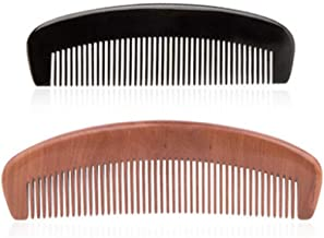 KPPTO Comb, A Comb Made By Hand-polished With Horn Material Of Cattle, Is A Very Healthy Material And Can Be Presented As A Gift (available In Nine Combinations) beautiful life (Style : Style1)