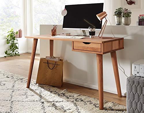 Main Möbel Schreibtisch 120cm 'Alma' Kernbuche geölt FSC Mix 70%