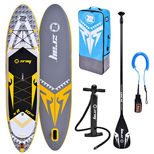 ZRAY SUP X-Rider 10'10'' - Stand Up Paddle Gonflable - Charge Max 120 Kg - 330 x 76 x 15 cm -...