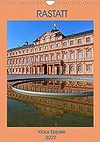RASTATT (Wandkalender 2022 DIN A4 hoch): Ein sommerlicher Rundgang durch die schoene Stadt Rastatt (Monatskalender, 14 Seiten )