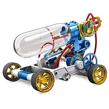 "Elenco Teach Tech ""Air Screamer"" Compressed Air Powered Racing Vehicle STEM Building Sets for Kids 10+"