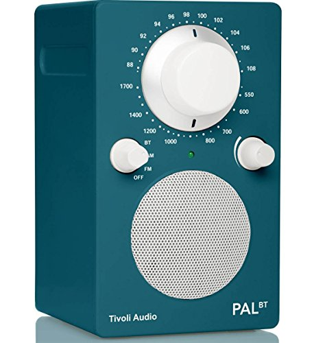 Tivoli Audio Fashion PAL BT Tragbares UKW-/MW-Radio, Bluetooth, Akkupack (Deep Ocean Teal (blau))