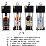 Alcohol CageTM Alkoholkäfig – EIN lustiges Geburtstagsgeschenk für Männer Das Beste witzige Geburtstagsgeschenk für Ihren Freund Eine lustige Geschenkidee für Ihren Mann Eine witzige Whisky-Box - 7