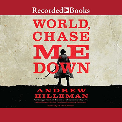 World, Chase Me Down audiobook cover art