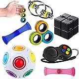 Sensory Fidget Toys Set 7 Pack. Stress Relief...