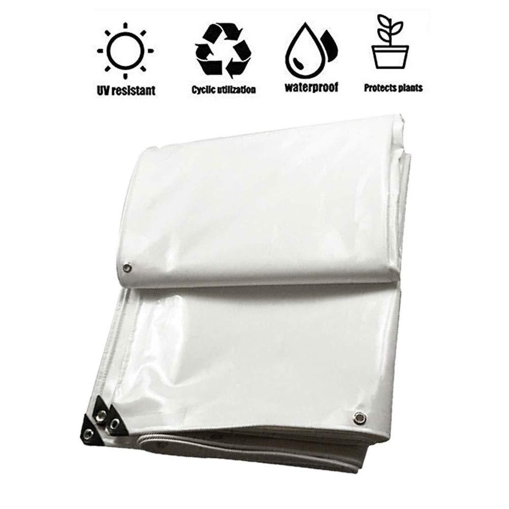 GHKL Lonas Impermeables Exterior, Lona de Proteccion, Protector Solar Prueba de Lluvia Protección UV Anti-Envejecimiento Plegables Pérgola Estanque Piscina (Color : 5mx8m(16x26ft)): Amazon.es: Hogar