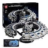 Model King 2020, tecnología Star Wars Cruiser Spaceship, 3663 PCS Millennium Falcon ensamblados juguetes de bloques de construcción de alta dificultad para adultos A,54 * 48 * 17cm
