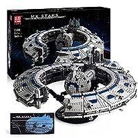 モデルキング2020、テクノロジースターウォーズクルーザー宇宙船、3663 PCSミレニアムファルコン組み立て大人高難易度ビルディングブロックおもちゃ、レゴと互換性があります A,54*48*17cm