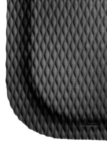 M+A Matting - 422000046 Hog Heaven Ergonomic Industrial-Grade Anti-Fatigue Mat 7/8' 6' Length x 4' Width x Black by
