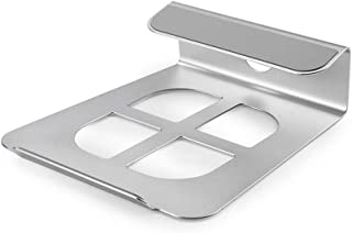 Laptop Stand, Desktop Height Aluminum Alloy Thermal Computer Pad Simple Non-slip Multifunction, Silver (Color : Silver)