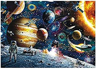 Tobeape ® Space Puzzle 1000 Piece Jigsaw Puzzle Kids Adult – Planets in Space Jigsaw Puzzlew