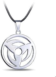 Naruto Necklace Sharingan Eye of Kakashi Hatake Pendant Cosplay Jewelry