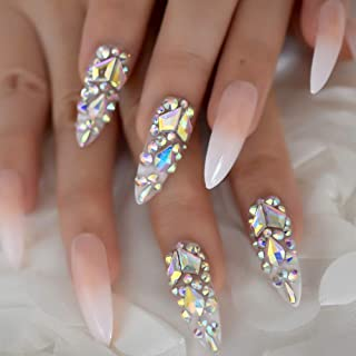 pre designed acrylic nails