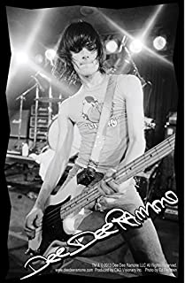 C&D Visionary Dee Dee Ramone Photo Sticker by C&D Visionary