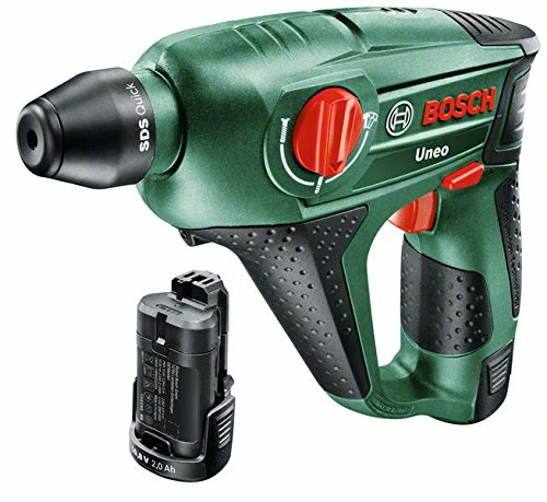 Bosch Akku Bohrhammer Uneo (2 Akku,10,8 V, im Koffer)