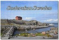 BEI YU MAN.co スウェーデンSoderskar灯台ジグソーパズル大人のための子供1000個木製パズルゲームギフト用家の装飾特別な旅行のお土産