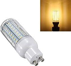 Socket Led Light LED Warm White Cover Corn Lamp Bulb AC 220V GU10 72 SMD 4014