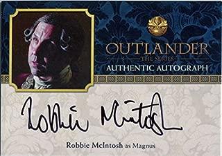 Outlander Season 2 Autograph Card RMC Robbie McIntosh as Magnus