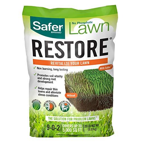 Safer Brand Lawn Restore Fertilizer – 20 Lb