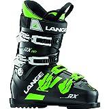 LANGE RX 110 Botas esquí, Adultos Unisex, Black Green, 28.5