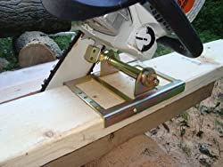 Sawmill: Cutting Beams with a Chainsaw