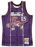 Camiseta Swingman vintage Mitchell & Ness Vince Carter Toronto Raptors Talla XL