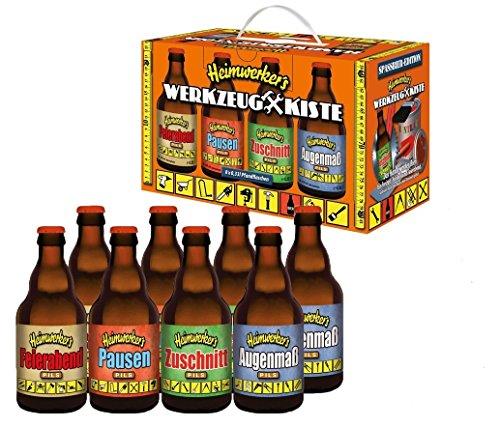 heimwerkers de herramienta de mano Caja de cerveza en caja de cartón (8x 0.33l)