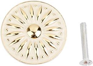 F Fityle 35 mm diameter. Meubelgrepen voor kast/kast/commode/kuip/deur, met schroeven, ivoor