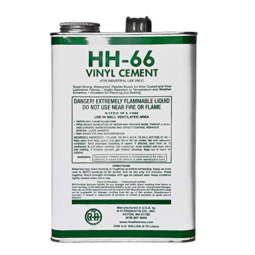 RH Adhesives PVC Vinyl Cement Glue - HH-66 - 1 Gallon (128 Ounces)