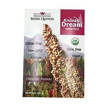 Andean Dream Pasta Quinoa Fusilli 8 oz