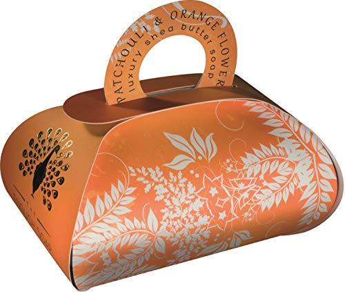 The English Soap Company, Large Gift Bag Bath Soap, Patchouli & Orange Flower, 260g