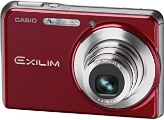 Casio Exilim EX-S880 8.1MP Digital Camera with 3x Anti-Shake Optical Zoom (Red)