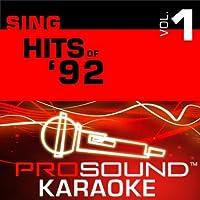 Sing Hits Of '92 Vol. 1 [KARAOKE]