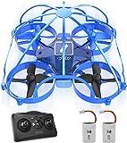 ATOYX AT-66D Drone Enfant Hélicoptère Télécommandé avec Mode sans Tête Mini Drone avec Télécommande Jouet et Cadeau pour Enfant et Débutant (Bleu)