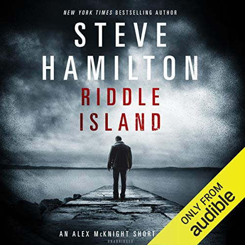 Riddle Island audiobook cover art