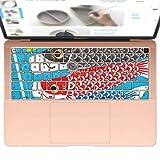 igsticker MacBook Air 13inch 2018 専用 キーボード用スキンシール キートップ ステッカー A1932 Apple マックブック エア ノートパソコン アクセサリー 保護 015798 鯉のぼり 空 端午の節句