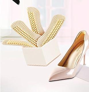 IKRR 靴擦れ防止パッド かかと滑り止め かかと調整パッド 4D かかとクッション 痛み軽減 パカパカ防止 滑り止め 靴のサイズ調整(2足セット4枚) シリコン 男女兼用