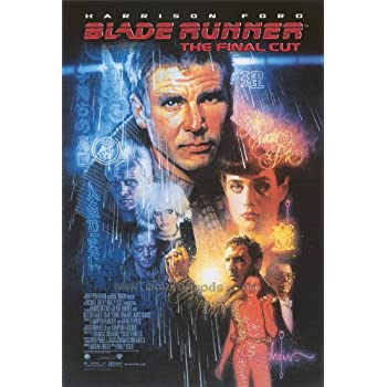 Blade Runner - The Final Cut Poster 27x40 Harrison Ford Rutger Hauer Sean Young