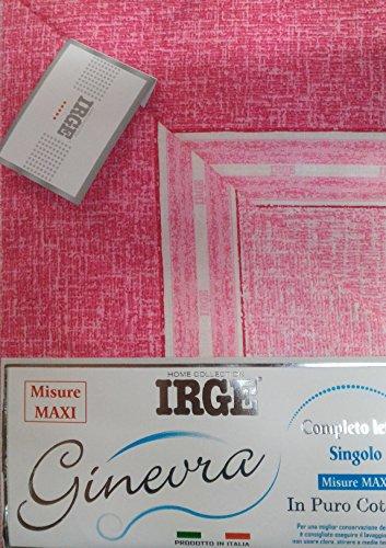 Irge Completo Letto Singolo Lenzuola Cotone 100% Art.9