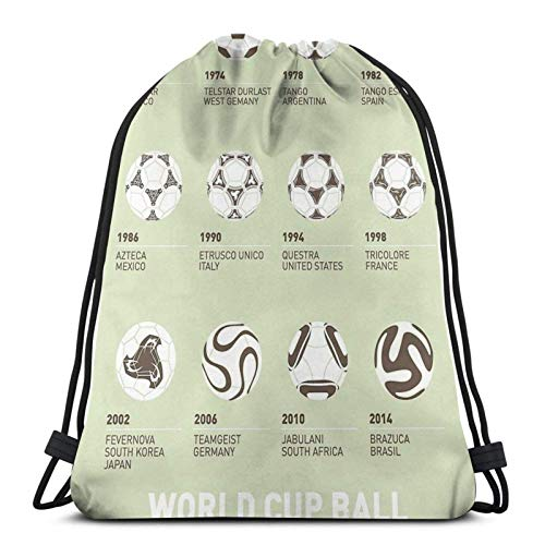 AOOEDM My Evolution Minimal Poster Sport Sackpack Drawstring Backpack Gym Bag Sack