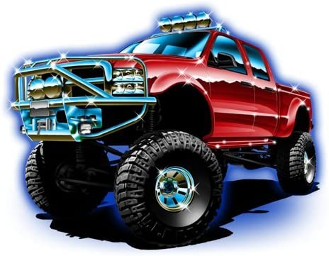 Monster Ranking TOP18 Max 77% OFF Truck Fabric 5836 inch Square 25