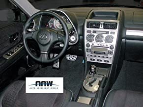 Exterior Stainless Steel Chrome Pillar Posts Trim Set for Lexus GS 350 GS350 GS450 450H Hybrid 2010 2011 2012