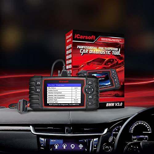 iCarsoft LR V30 for Land Rover/Jaguar Diagnostic Tool with auto VIN/Quick Test/Actuation Test