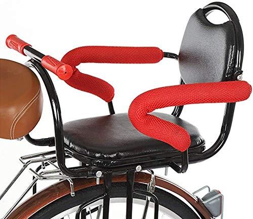 Fiets kinderzitje Fietskinderzitje Rear met Seat Belt dikker baby autostoeltje Rear for elektrische fiets vouwfiets veiligheidszitjes