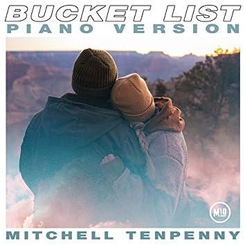 Bucket List (Piano Version)